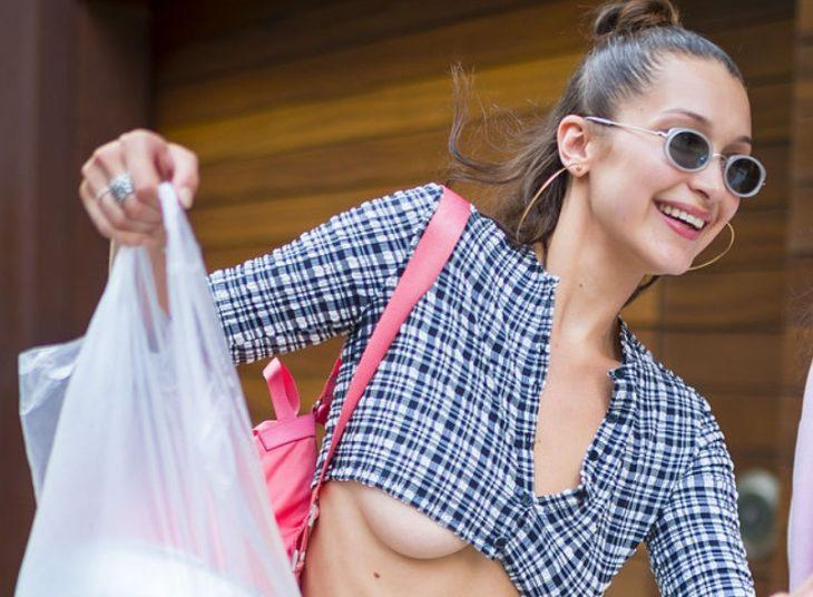 Белла Хадид - великолепная модель с сумками