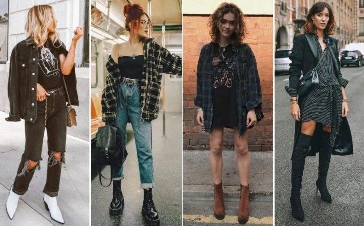 Одежда в стиле Гранж