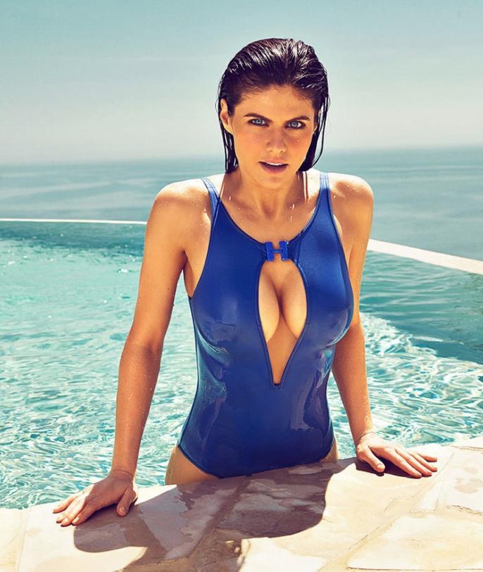 Alexandra daddario в купальнике (4)