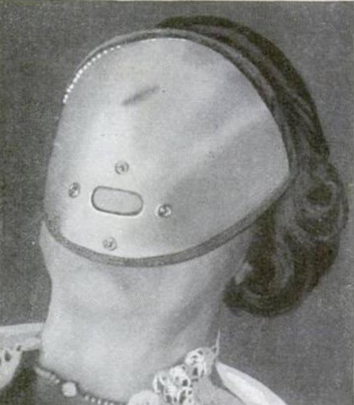 Алюминиевая маска для сна