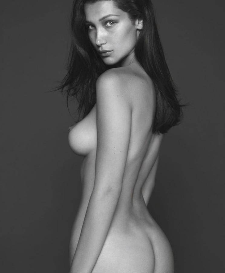 Горячая фото Bella Hadid голая
