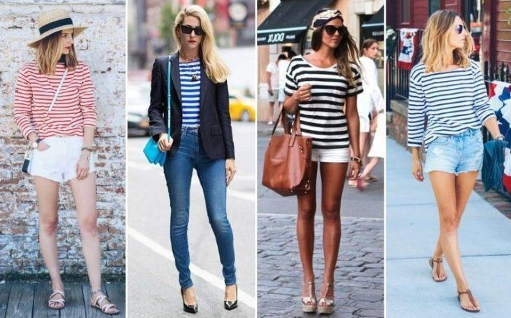 Рубашки в полоску это стильно незаменима в летней одежде
