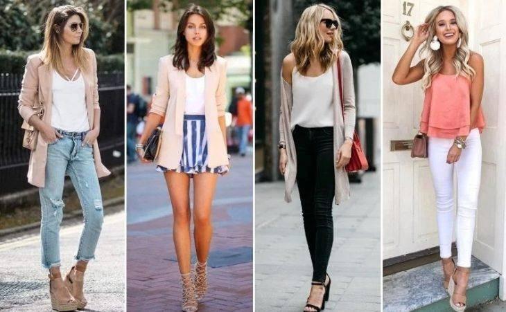 Майки и блузки должны быть разных цветов