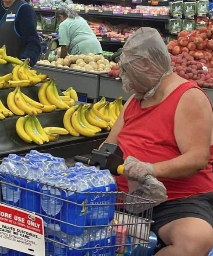 Дикие люди в магазинах (1)