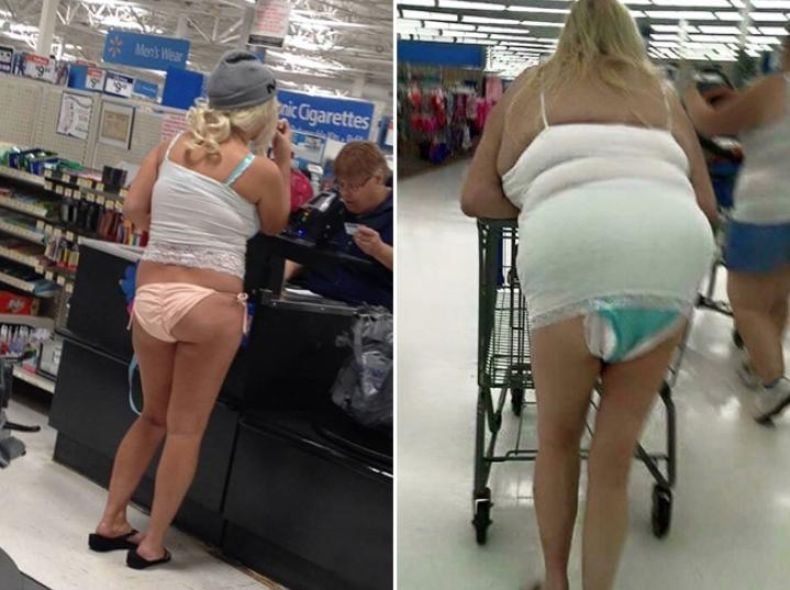 Дикие люди в магазинах (2)
