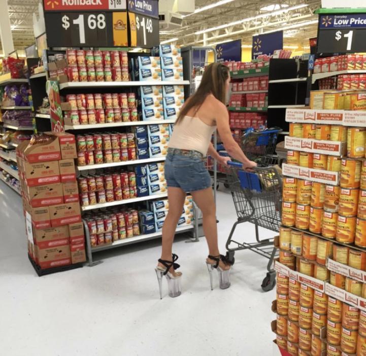 Дикие люди в магазинах (6)