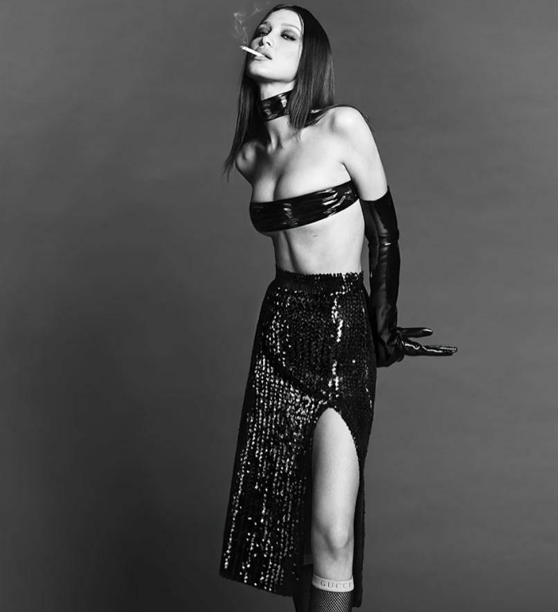 Секси фото Беллы Хадид для журнала Vogue Корея