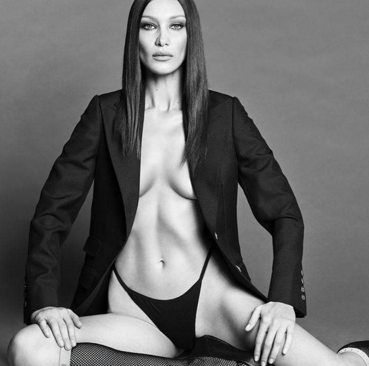 Сексуальные фото Беллы Хадид для журнала Vogue Корея