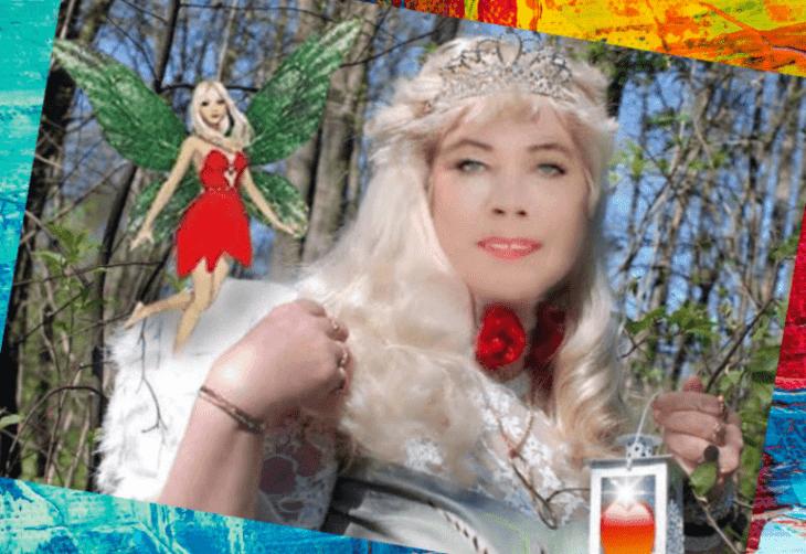 Дама в эльфийском лесу