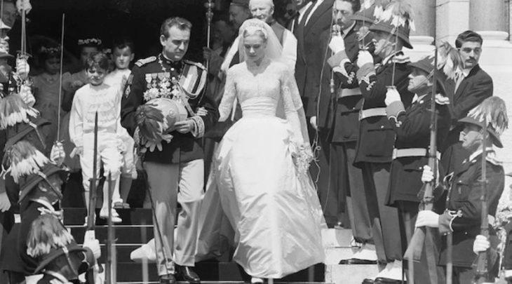 Грейс Келли в платье от Helen Rose
