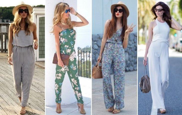 Летние Комбинезоны вариант летней одежды