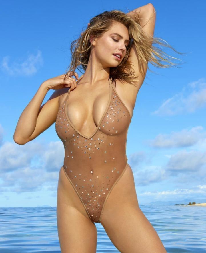 Кейт аптон в секси откровенные фотки в купальнике (1)