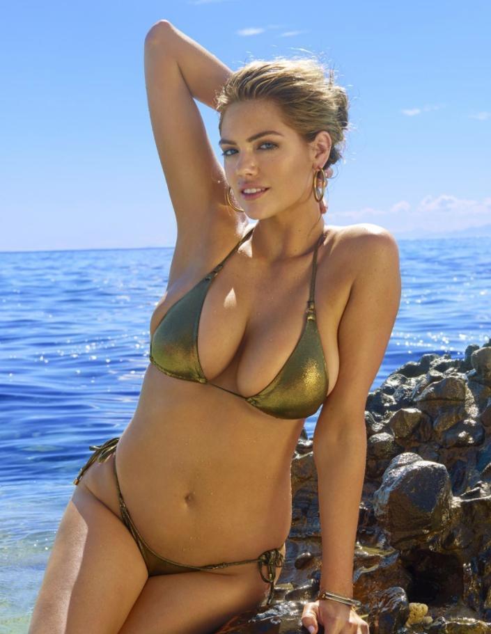 Кейт аптон в секси откровенные фотки в купальнике (3)