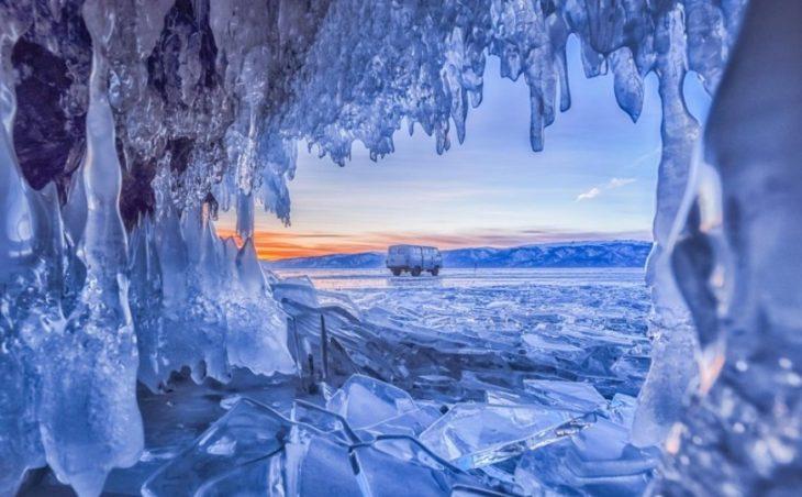 25 удивительных фотографий льда и снега — причуды природы