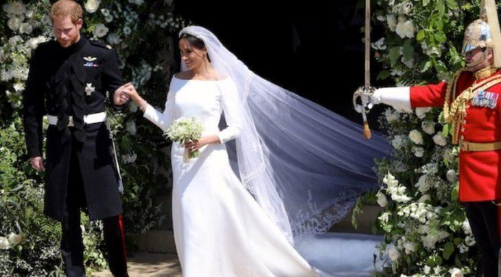 Меган Маркл в платье от Givenchy