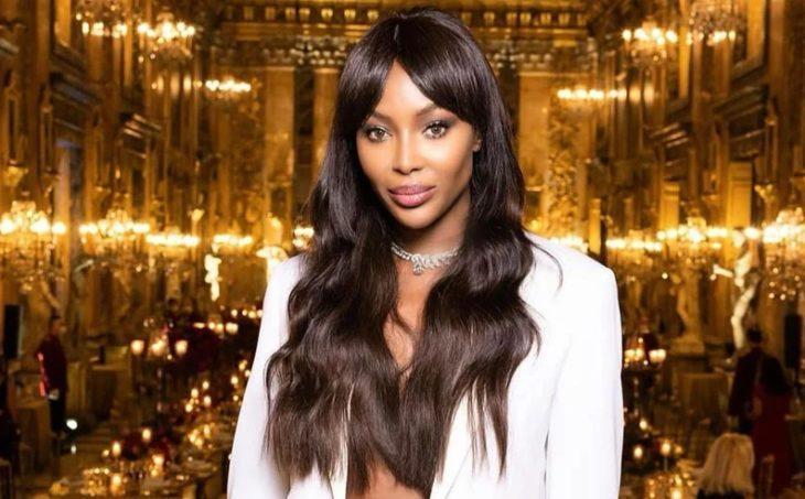 Naomi Campbell самая красивая темнокожая модель