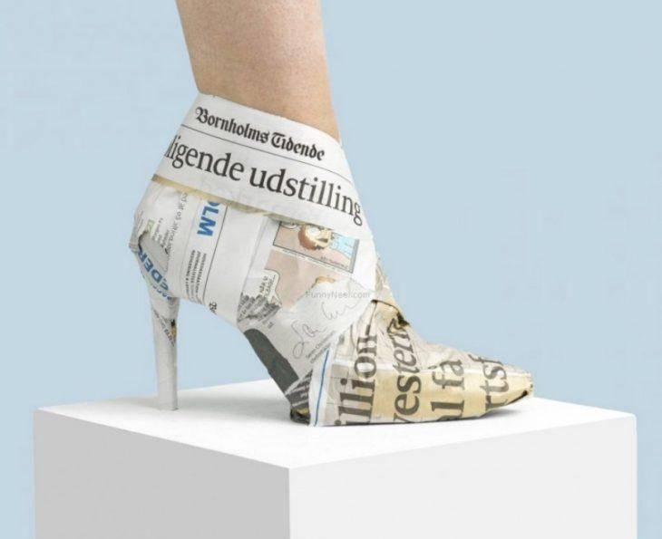 Самые сумасшедшие дизайны туфель на высоком кублуке (фото)