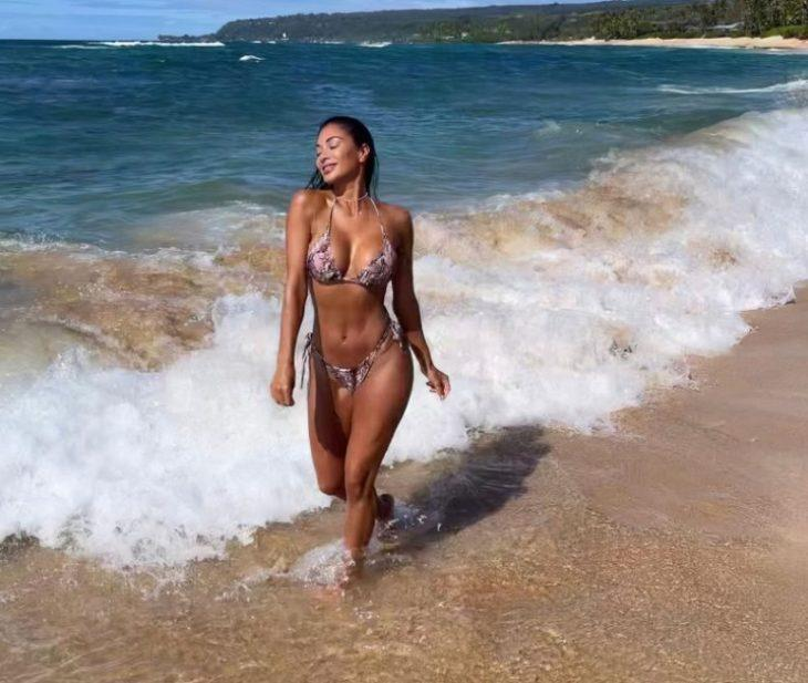 Горячие фото nicole scherzinger в купальнике на пляже