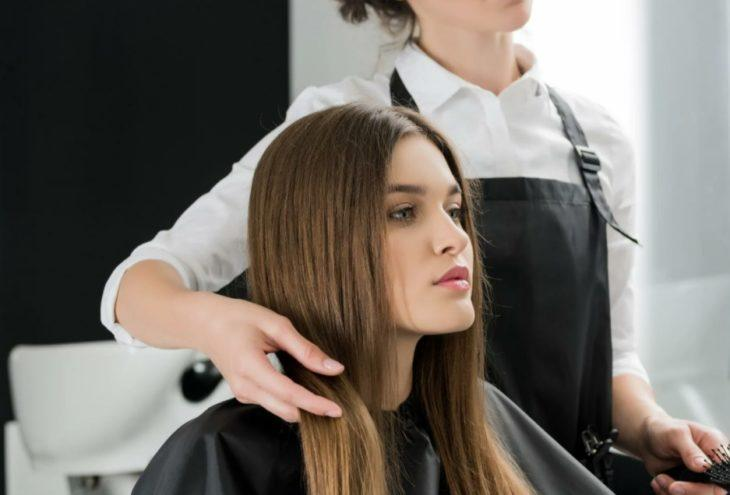 Окрашивание волос в салоне 4