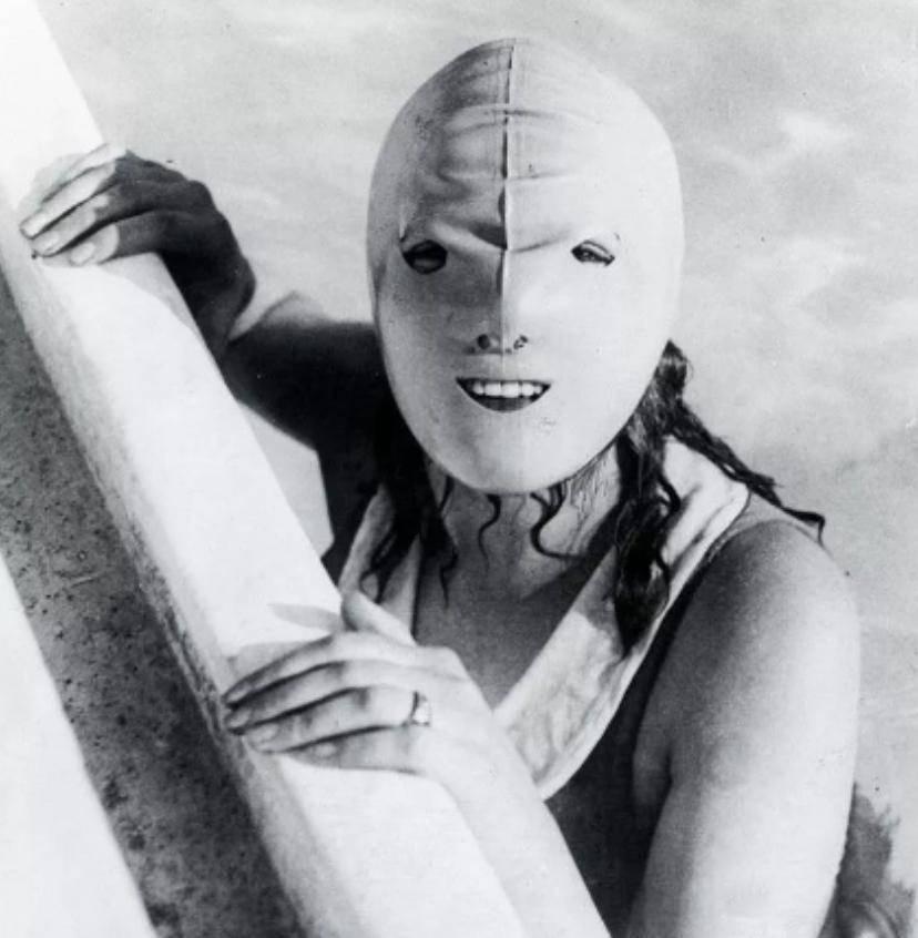 Плавательная маска для лица