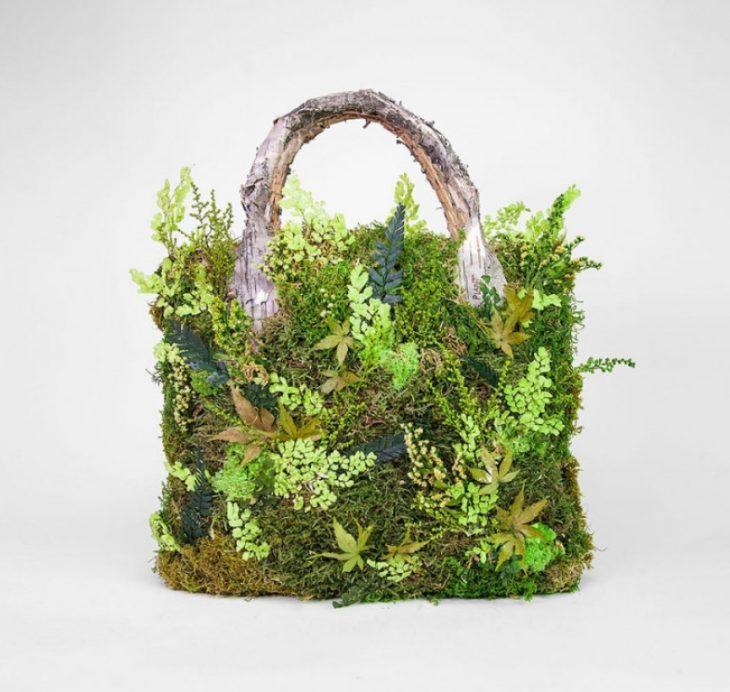 Удивительные природные скульптуры и инсталляции из растений (фото)