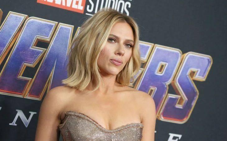 Scarlett Johansson одна из самых красивых актрис