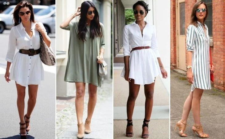 Различные — платья-рубашки разбавят ваш летний гардероб