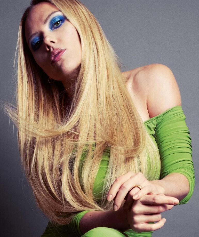 Скарлетт йоханссон в горячей фотосессии для журнала gentlewoman