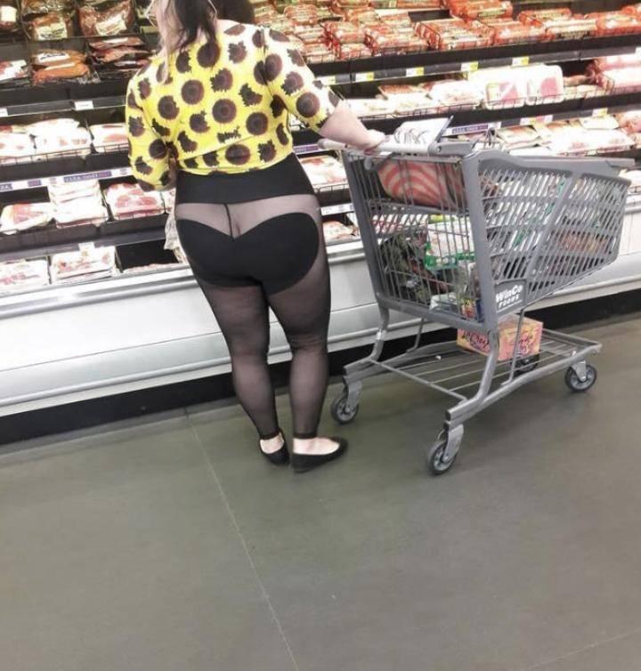 Смешные люди в магазинах (1)