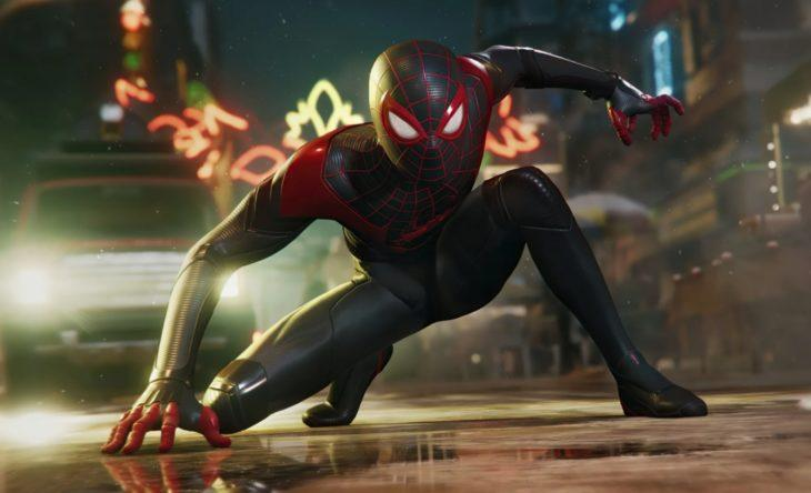 Spider man miles morales человек паук