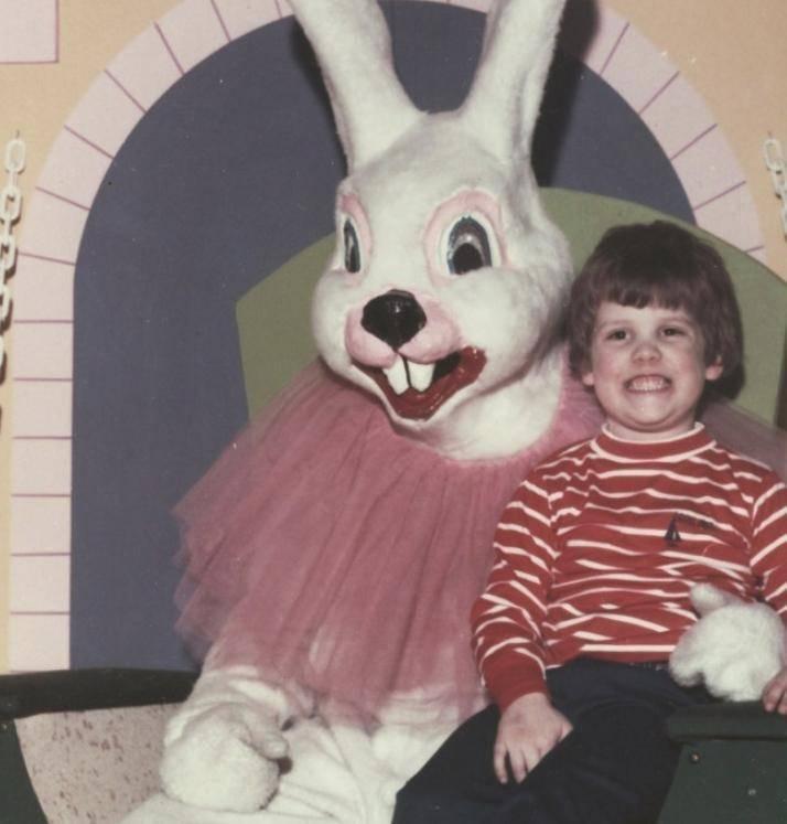 Винтажные американские пасхальные кролики прямиком из ада