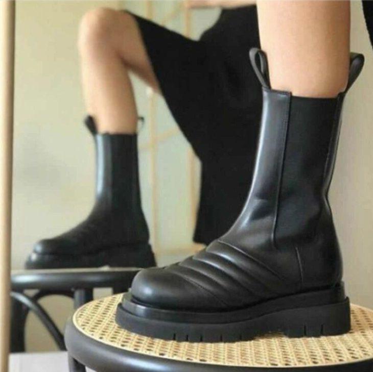 Тренды зимы 2021 ботинки