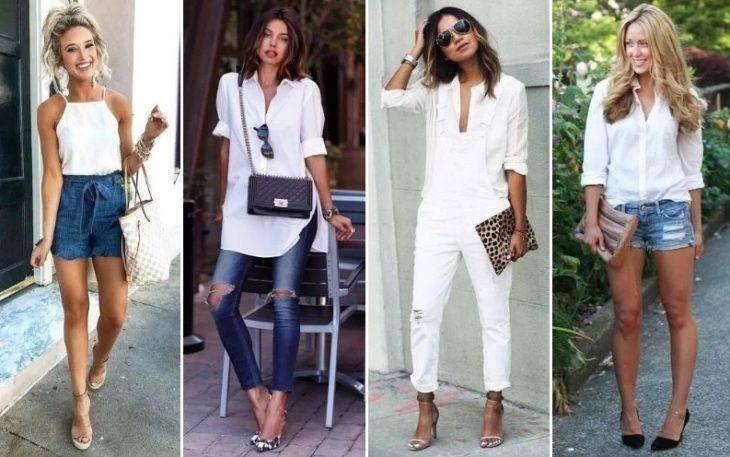 White Shirts, Белые рубашки помогут вам выглядеть свободнее этим летом