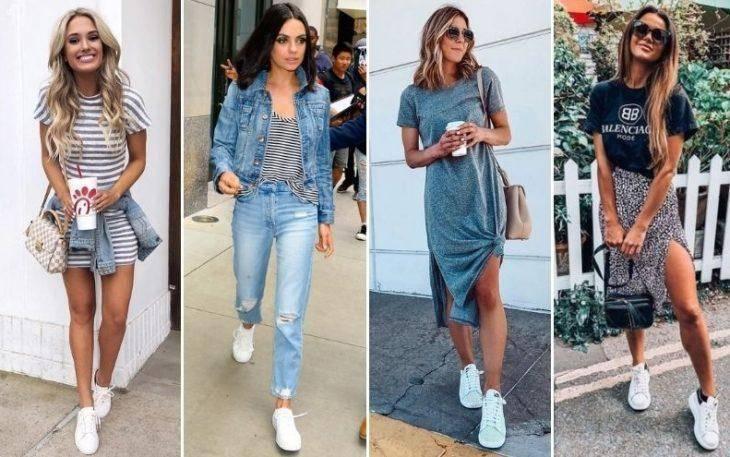 Белые Кроссовки это всегда модно и стильно, носите их летом обязательно